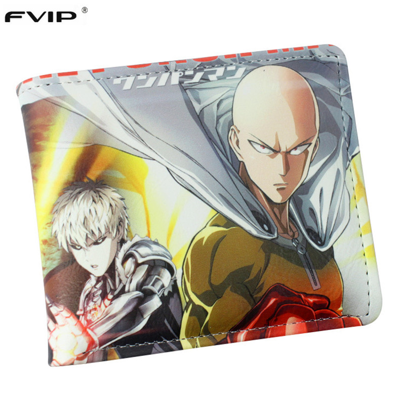 FVIP Cartoon Wallet Anime Cosplay One Punch Man /My Little Pony/Zelda/Fairy Tail/Sailor Moon Wallet Card Holder Dollar Price