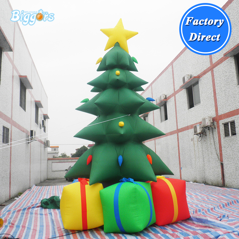 Giant Inflatable Christmas Tree For Sale, Advertising Christmas Inflatable Tree