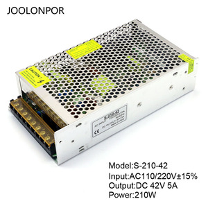 Image 4 - מיתוג אספקת חשמל Ac 110V 220V כדי Dc 36V 40V 42V 5A 6A 7A 200W 250W 300W מנוע מתח רגולציה נהג אספקת חשמל