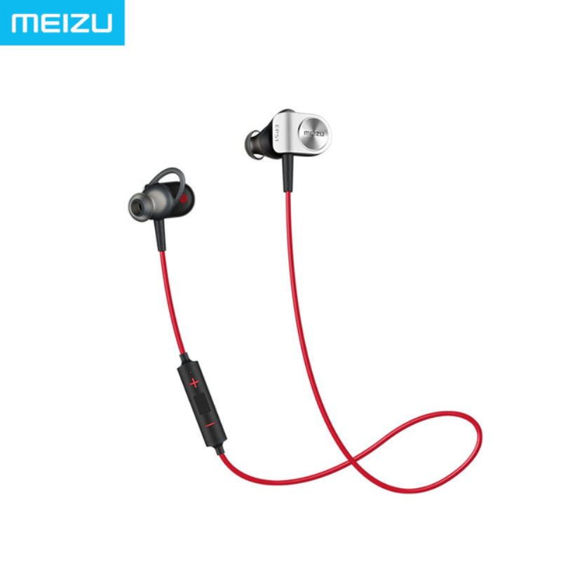 ФОТО Meizu EP51 Wireless Earphone Fashion Bluetooth 4 Support APTX Noise Cancelling with MIC Aluminium Alloy Shell for Sale