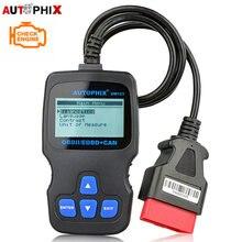 Autophix eobd португальский scan code can reader анализатор автомобильная русский сканер