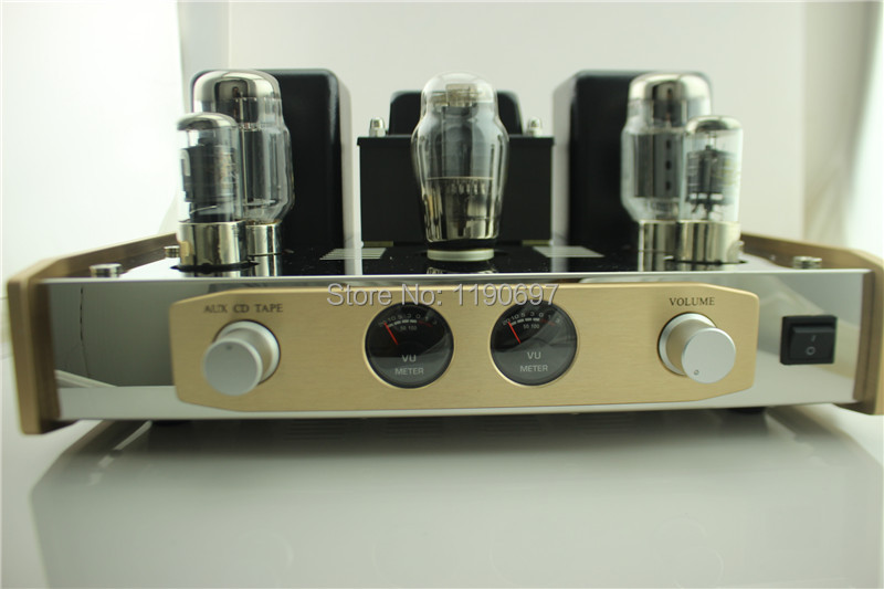 цена на KT88 Single Ended Tube Amplifier 5Z3PAT Rectifier Tube 6J8PJ Tube Hifi Stereo Audio Vacuum Tube Power Amplifer