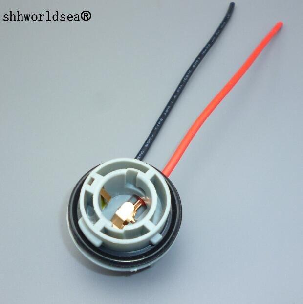 ᐅshhworldsea 1pcs BA15S Connector 10CM Female 1156 Car Socket ...
