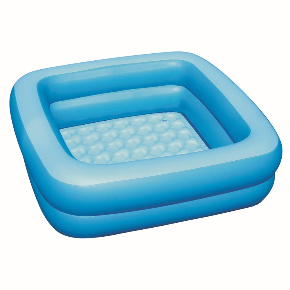 Bestway Frame Pool Untergrund Us 11 05 6 Off 51116 Bestway 86cmx86cmx25cm Double Ring Inflatable Baby Bathtub 34