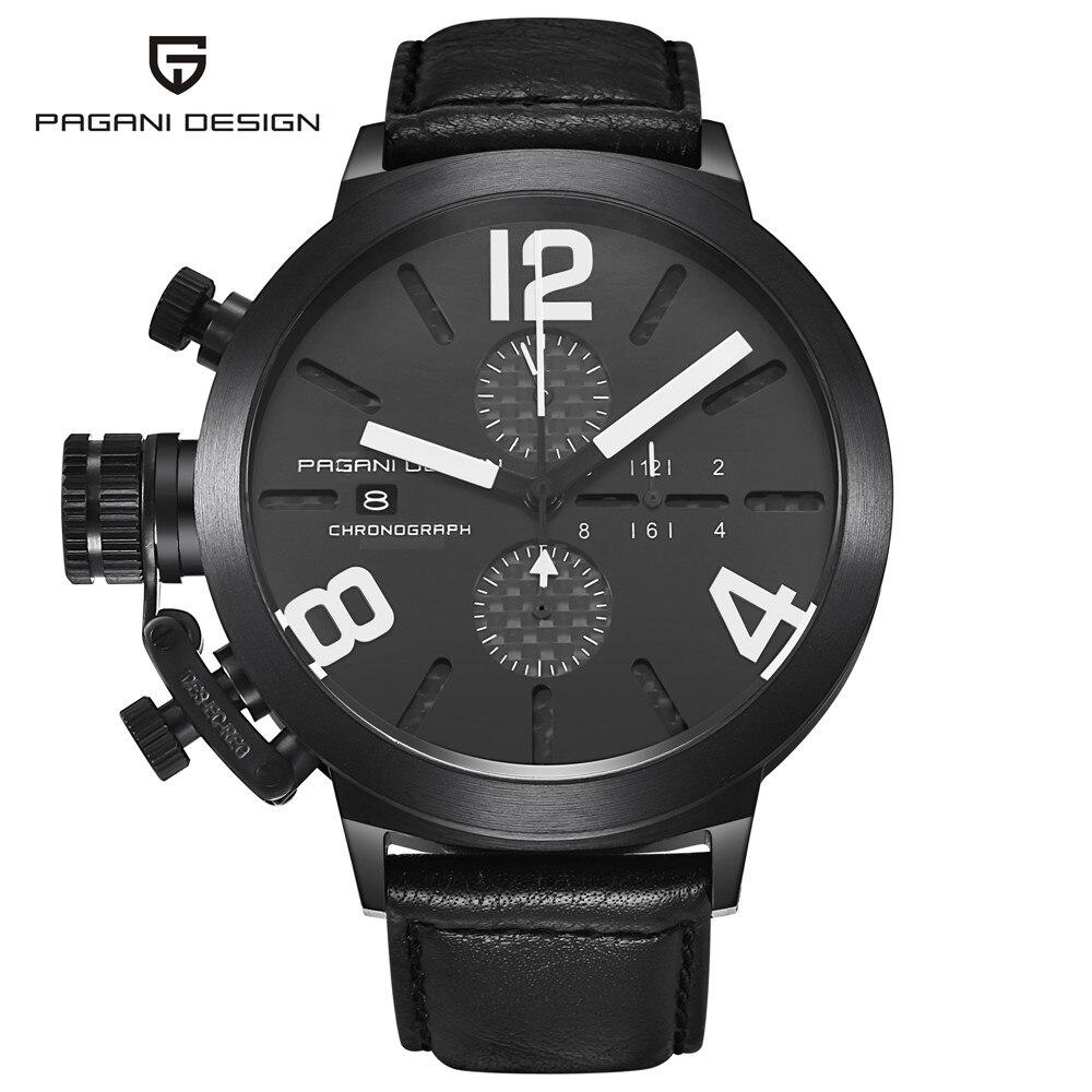 ФОТО mens watches top brand luxury PAGANI DESIGN unique innovative quartz-watch men multifunction sports waterproof relogio masculino
