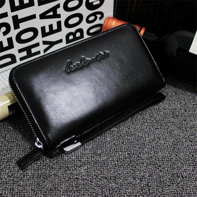 2016 New Arrival Women's Wallet Genuine Leather High Capacity Long Ladies Purses With Zipper Coin Pocket Card Holder Bag