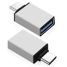 Type C vers USB 3.0 adaptateur OTG adaptateur USB adaptateurs convertisseur pour Xiaomi 4C 4S 5S Plus Oneplus 3T 2 3 Nubia Z11 Z11 mini