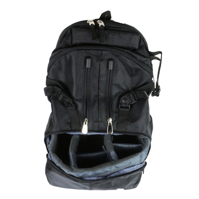 Recommend 2016 1pcs bew black Backpack Black Tattoo Artist Travel Bag With Inner & Outer Pockets For Tattoo Free Shipping europe god of darkness robert recommend gp self lock grips gp3 professional tattoo artist grip