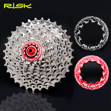 2017 Risk Mtb Bike Flywheel Lock Al 7075 CNC 11T Bicycle Hub Cassette Repair parts For SHIMANO and SRAM Bike Parts 2 Colors