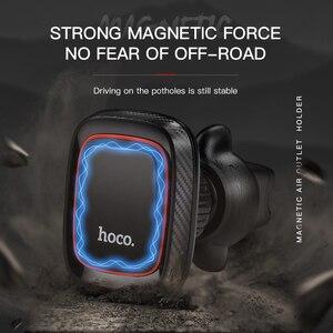 Image 3 - HOCO Support magnétique de téléphone portable de voiture Support magnétique prise dair Support 360 degrés GPS Support de Smartphone pour iPhone Samsung