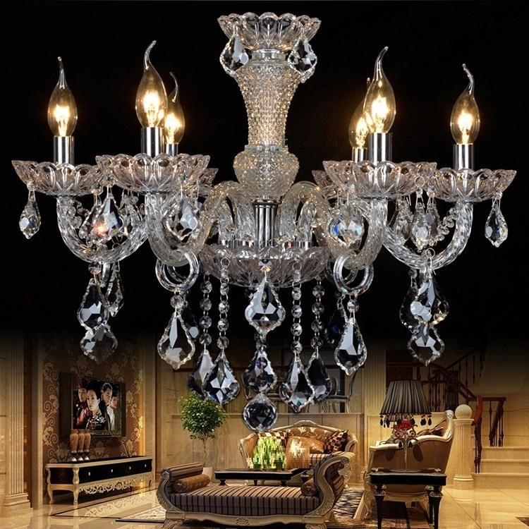 zx 2016 new crystal led pendant lamp luxury staircase long