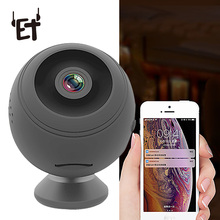 ET HD 1080P Wifi Camera Night Vision Micro Cam 155 Degree Motion Detection Mini Camera Home Security Camcorder Support TF Card