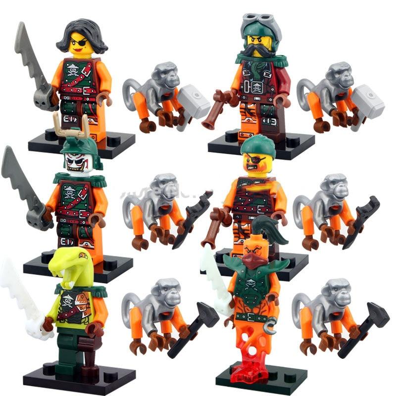 Decool Building Blocks Compatible With Lego DG10035-10040  Models Building Kits Blocks Toys Hobby Hobbies For Chlidren