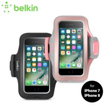 Belkin Premium Sport-Fit Pro Armband for iPhone 8/7 4.7″ Jogging GYM with Earphone Cord Storage Key Pocket Hand-washable F8W795