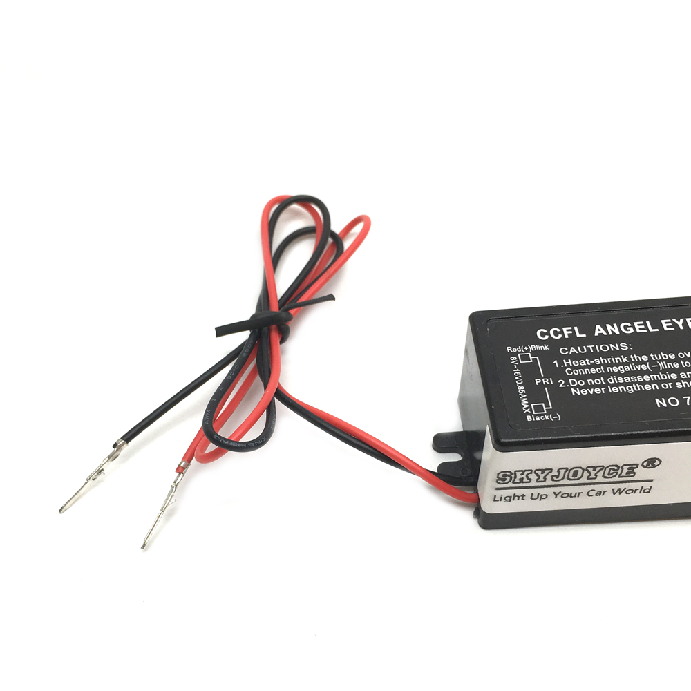 Skyjoyce Universal Ccfl Inverter Replacement 1 For 2 Lamp Socket Wiring A Angel Eye Driver