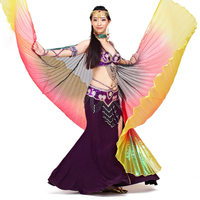 9 Colors Stage Performance Props Dance Accessories Egyptian Wings Non Split Colored Wing Multicolored Belly Dance