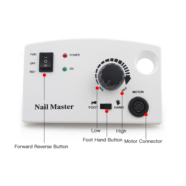 Ladymisty Electric Nail Drill Machine 25w 35000RPM Pro Nail Cutter Nail Art Equipment Pedicure Manicure Machine Milling Machine