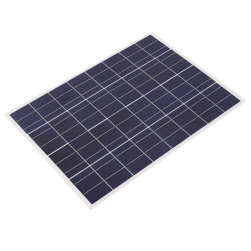 Panneau solaire 25 w pour 20 w prix chargeur 12 v/w 4 m câble bloc Diode et batterie Clip chargeurs de téléphone Portable cellule solaire Portable