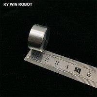 potentiometer knob 1 pcs 25x13mm Aluminum Alloy Potentiometer Knob White (D-axis) (5)