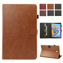 Luxury Case For Samsung Galaxy Tab A A2 2018 10.5 inch T590 T595 T597 SM-T595 Cover Funda Tablet PU Leather Stand Shell