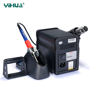 Image 5 - YIHUA 995D+SMD Soldering Station With Pluggable Hot Air Gun Soldering iron BGA Rework Station Phone Repair Welding Station