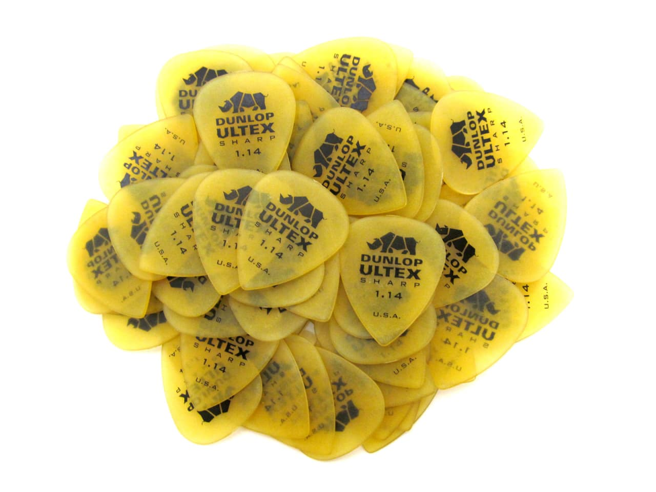 Dunlop Ultex Sharp Guitar Pick Plectrum Mediator 0.73mm-2.0mm, 1/piece