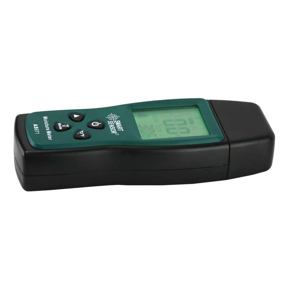 Wilgotnościomierz drewna Tester wilgotności Drewna Detektor wilgoci - Przyrządy pomiarowe - Zdjęcie 2