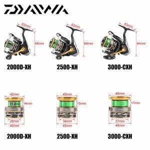 Image 5 - DAIWA EXCELER LT 1000DXH 2000DXH 2500DXH 3000CXH 4000DCXH 5000DCXH 6000DH Spinning Fishing Reel High Gear Ratio 5BB LT Body