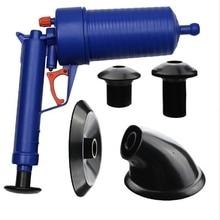 DIY High Pressure Air Blowing Drain Blaster Toilet Pump Dredge Sink Pipe Clog