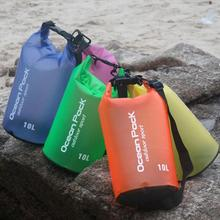 Portable 2/5/10/15/20L Waterproof Bag Storage Dry Bag For Canoe Kayak Rafting Sports Outdoor Camping Travel Kit Equipment