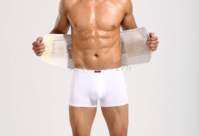 Male Waist Slimming Belt & Back Supporter