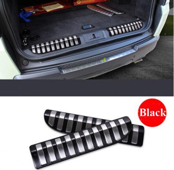 Paslanmayan Polad Avtomobil Arxalı Qapı eşik bumper Qoruyucu Sill - Avtomobil daxili aksesuarları - Fotoqrafiya 2