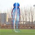 Grandes Remarcações promoção frete grátis grande linha de pipa nylon ripstop tecido pipa macio trilobite alienígena inflável crianças saco de pipa