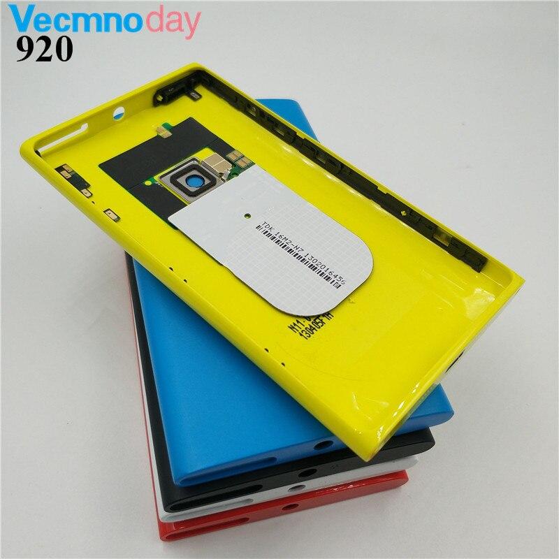Vecmnoday Originale Della Batteria Dell'alloggiamento Della Copertura Posteriore Porta Per Nokia lumia 920 N920 Parti di Ricambio