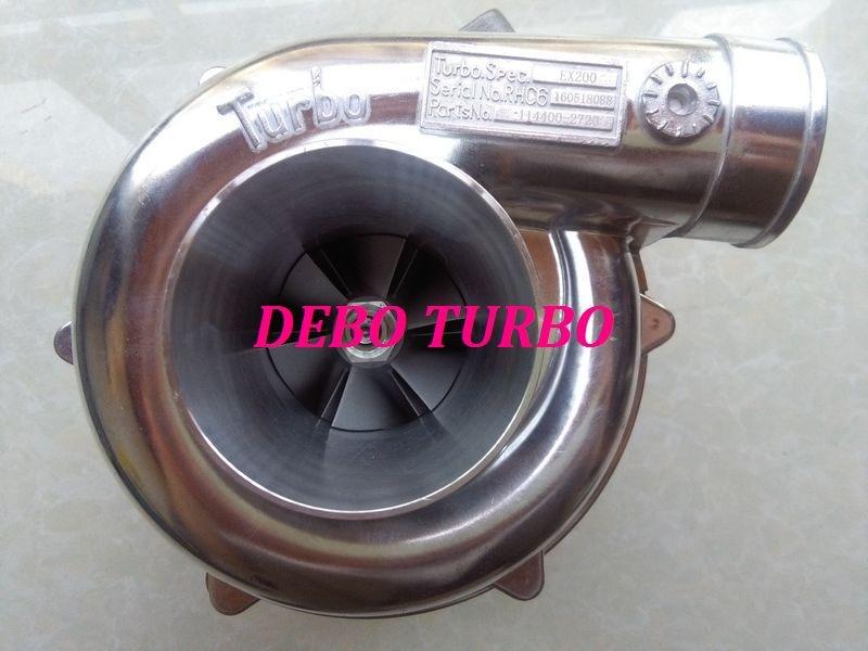 NEW RHB6 114400 2720 Turbo Turbocharger for HITACHI ISUZU EX200 2 Excavator 6BD0 engine|turbocharger| |  - title=