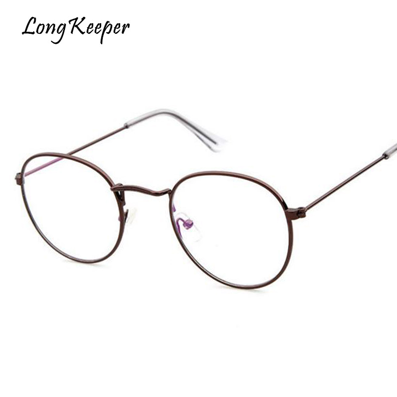 d13d055aed5 Long Keeper 2018 Latest Fashion Oval Eyeglasses For Women Men Reading  Computer Work gafas Ladies Elegant