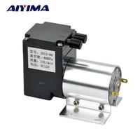 Aiyima DC12V vacuum pump small negative pressure suction suctio pump Diaphragm pump 12L/min 80 kpa