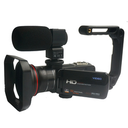 Winait 3.0 touch display HDV-Z20 Wifi digital video camera that supports macro lens and hot shoe micro phone