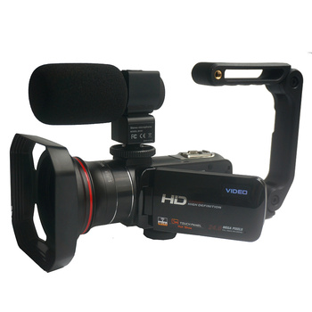 Winait 3.0'' touch display HDV-Z20 Wifi digital video camera that supports macro lens and hot shoe micro phone