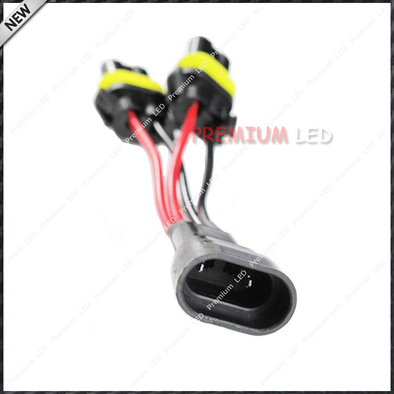 2x 9005 9006 Splitter Wires for Quad//Dual Project High Beam Headlight Retrofit