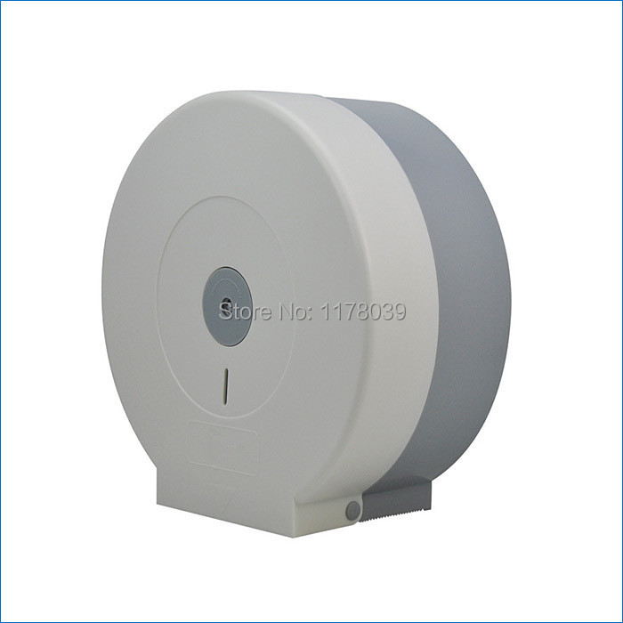Large Roll Toilet Paper Holder Plastic Towel Abs Bathroom Tissue Box Free Shipping J15394