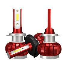 COB Chip H4 H7 LED Headlight Conversion Kits H1 H11 9005 9006 HB3 HB4 Car Light Bulbs Auto Lamp 6000K 12V cob chip h4 h7 led headlight conversion kits h1 h11 9005 9006 hb3 hb4 car light bulbs auto lamp 6000k 12v