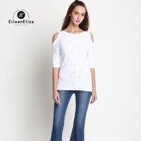 O Средства ухода за кожей шеи выдалбливают футболка Для женщин Элитный бренд Топы корректирующие известный бренд Для женщин Топы корректир