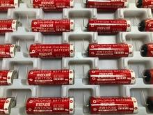 5pcs/lot New Original Maxell ER17/50 3.6V 2750MAH PLC Industrial Control Horned Lithium Battery Batteries 5pcs lot tc58nvg2s3eta00 original