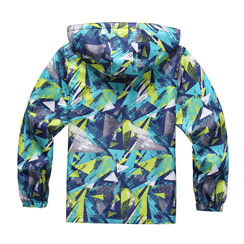 Коллекция 2019 года, весенние топы, Детская куртка, верхняя одежда, спортивные флисовые пальто, детская одежда, водонепроницаемая ветровка для мальчиков, куртки
