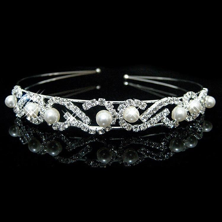 HTB1NDSBIVXXXXXfapXXq6xXFXXXQ Bejeweled Pearl And Rhinestone Crystal Bridal/Prom/Cosplay Crown Tiara - 16 Styles