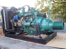 weifang fixed power 154kw R6108IZLP Ricardo diesel engine for connecting agricultural machine with clutch and belt