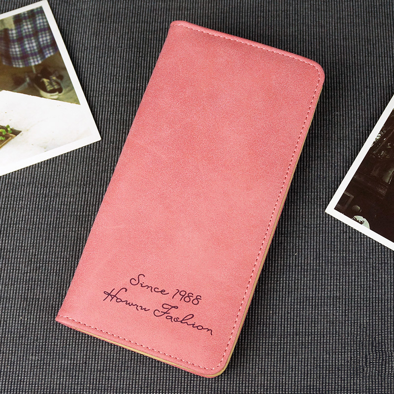 2019 New Women Clutch Fashion PU Leather Wallets Female Long Fresh Coin Purses Bag Girls Lady Credit Cards Holder Money Wallet