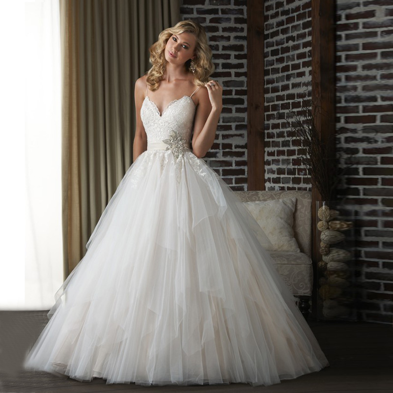 online get cheap heart wedding dress