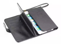 Al aire libre de la Señora Correa de Mano Tarjeta de Billetera de Cuero Cajas Del Teléfono Móvil Bolsos bolsa para lenovo vibe x2 s580 a5000 a6000 a859 s850 s650 s60